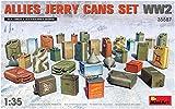 MiniArt 35587 Allies Jerry Cans - Juego de Accesorios para maquetas de fútbol Americano, Color Gris