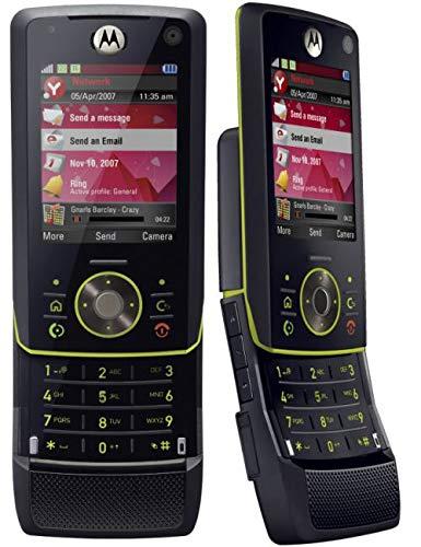 Motorola MOTORIZR Z8 - Teléfono Móvil Libre - Negro