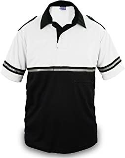 Best Two Tone Bike Patrol Shirt with Reflective Stripes and Zipper Pocket Review