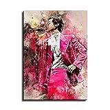Harry Styles Aquarell Kunst Dekorative Malerei Poster Kunst