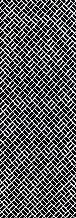 染の安坊 本染め手ぬぐい 二の字中 褐色(かちいろ) 100cm×35cm