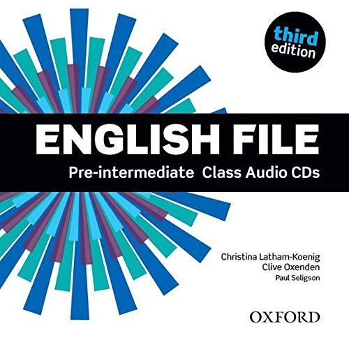 English File third edition: English File Pre-Intermediate: Class Audio CD 3rd Edition - 9780194598590