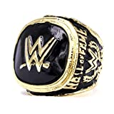 LGFB WWE for 2015 Professional wrestling championship ring Hall of Fame 9-12 size Fan souvenirs replica movement ring with wooden box,10