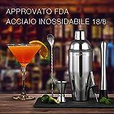 Zoom IMG-1 shaker cocktail di 5 pezzi