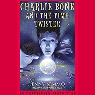 Charlie Bone and the Time Twister audiobook cover art