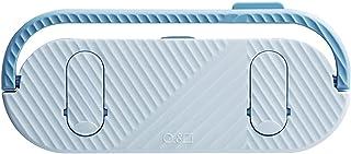 LJKD 5 Pantoufles Rack Gratuit Cuisine Murale perforée drainant et Finition Rack de Stockage 23 * 10 cm,Bleu