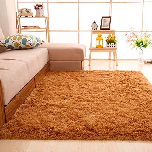 QBASA Moderne seidenteppich Wohnzimmer Studie Schlafzimmer rutschfeste saugfähigen verschleißfesten rechteckigen couchtisch schlafsofa Teppich bodenmatte 60 * 160 cm c