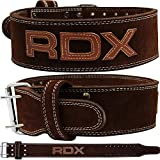 RDX Powerlifting Belt for Weight Lifting Gym Training - Double Prong...