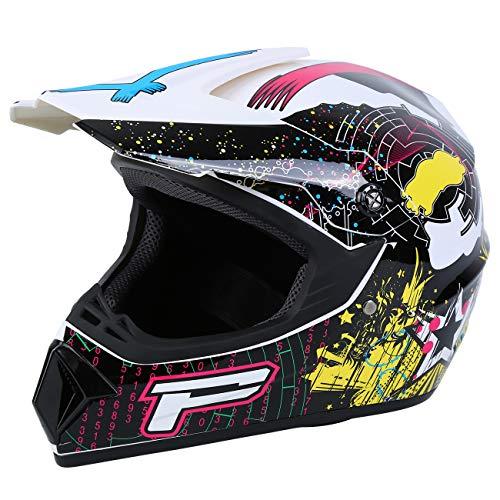 Product Image 8: Samger DOT Adult Offroad Helmet Motocross Helmet Dirt Bike ATV Motorcycle Helmet Gloves Goggles
