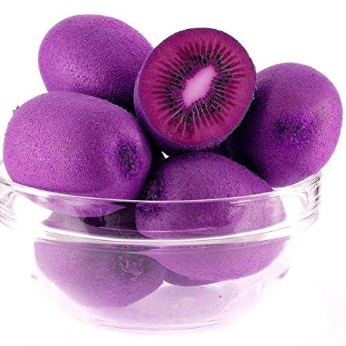 navire libre 40 graines nouvelles variétés Coeur Violet Kiwi Seeds Kiwi Seeds Arbre Bonsai pour Maison & Jardin