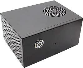 Geekworm Raspberry Pi X830 HDD SATA Storage Board Matching Metal Case/Enclosure + Power Control Switch + Cooling Fan Kit Support ROCK64 Board