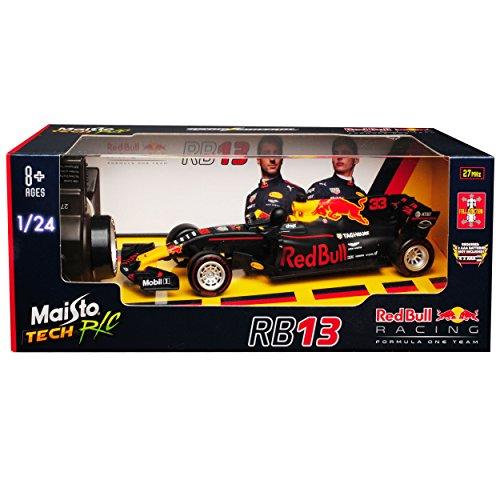 RC Auto kaufen Rennwagen Bild 3: Maisto Red Bull RB13 Max Verstappen Nr 33 Formel 1 2017 27 MHz RC Funkauto - inklusive Batterien - sofort startklar 1/24 Modell Auto*