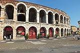 NC69 Italia Verona paisaje arquitectónico HD DIY 5D pintura de diamante kits únicos decoración de la pared del hogar decoración de la pared de diamantes de imitación de cristal punto de cruz