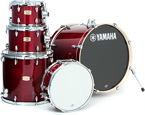 Yamaha Stage Custom Birch 5pc Drum Shell Pack - 22' Kick, Cranberry Red