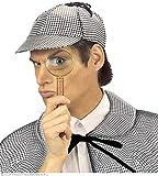 WIDMANN wdm3323h?Disfraz para adultos sombrero Detective, multicolor, talla única