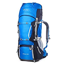 The Mountaintop 70 liter backpack comes in a range of colors