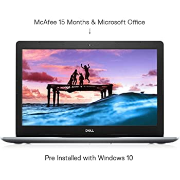 Dell Inspiron 3583 15.6-inch FHD Laptop (8th Gen Core i5-8265U/8GB/1TB/Window 10 + MS Office/2 GB AMD Graphics/Silver)