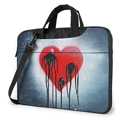XCNGG Laptop Bag, Bear Dolls Business Briefcase Protective Bag Cover for Ultrabook, MacBook, Asus, Samsung, Sony, Notebook 13 inch
