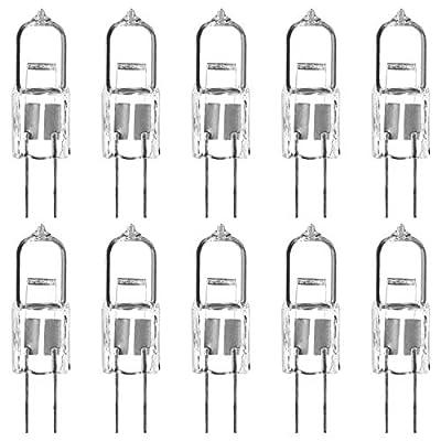 Luxrite LR20920 Q20T3/G4/12V 20-Watt Halogen Pin Base Light Bulb, Dimmable, 300 Lumens, G4 bi-pin base