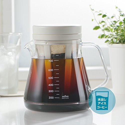 曙産業とっても割れにくいコーヒーサーバーストロン水出しコーヒーもできる2wayドリッパーセットホワイト15×12.2×21.7cmTW-3728