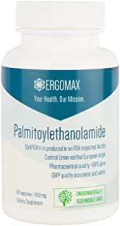 Ergomax - Palmitoylethanolamide - OptiPEA® - Natural Pain Relief - 60 Capsules 400mg