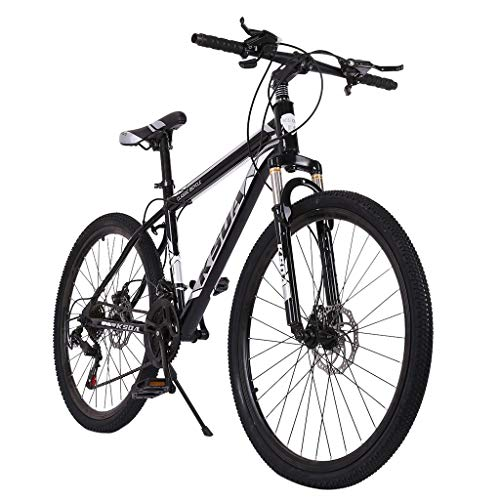 PUTEARDAT 26 inch Mountain Bike Full Dual Suspension Junior Aluminum Mountain Bikes for Men Woman Bicycle 21-Speed Beach Cruiser