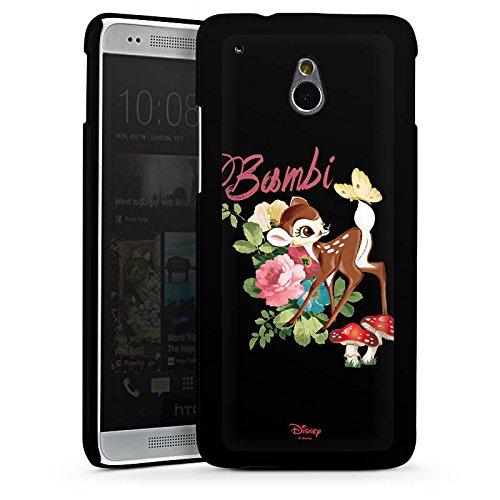 DeinDesign Hard Case kompatibel mit HTC One Mini Schutzhülle schwarz Smartphone Backcover Bambi Donald Duck Offizielles Lizenzprodukt