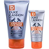 Duke Cannon Supply Co. Working Man's Face Wash for Men Combo: 4oz + 2oz.