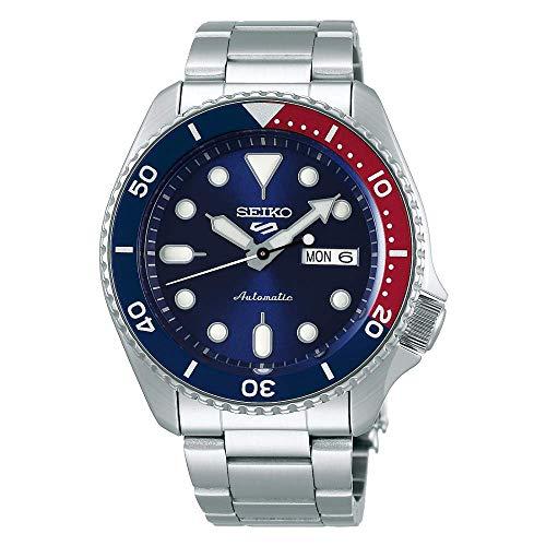 SEIKO 5 Sports AUTOMATIC Reloj para Hombre, Acero inoxidable