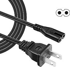6 Ft Long Polarized AC Power Cable Cord for VIZIO TV Sound Bar SB3621n-E8