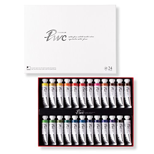 PWC ShinHan Extra Fine Watercolor Paint 15ml Tubes 24 Color Set