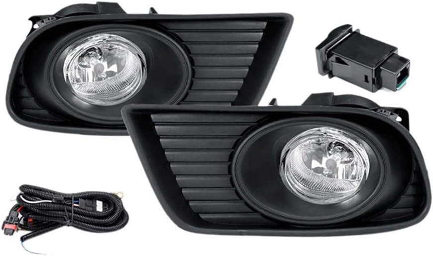IIWOJ Car Fog Lights Bumper Lamps Mazda for BT-50 Product Set Pickup Fit Trust