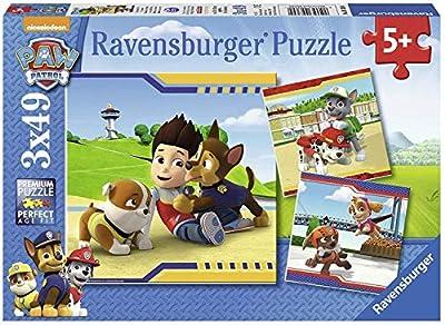 Ravensburger - Puzzle 3 x 49, Paw Patrol C (09369) por Ravensburger