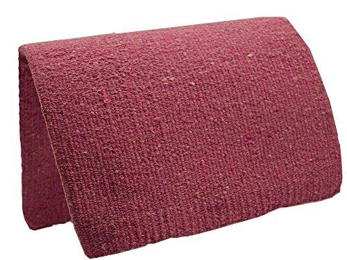 "Tahoe Tack Traditional Acrylic Saddle Blanket, 36"" x 34"", Fuchsia"