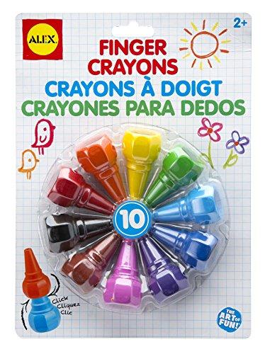 ALEX Toys Artist Studio Clickable Finger Crayons