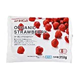MUSO 冷凍 オーガニック いちご (200g) / MUSO Organic Frozen Strawberries (200g) in Japan