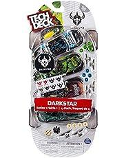 Bizak- Tech Deck - Pack de 4 Skates, Color surtido (61923610)