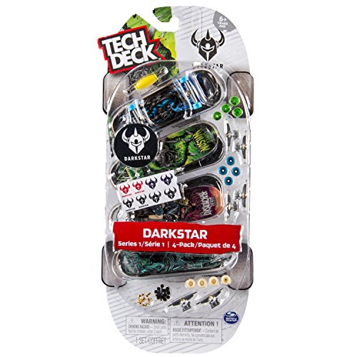 Tech Deck Pack de 4 Patinetes (BIZAK 61923610) , color/modelo surtido