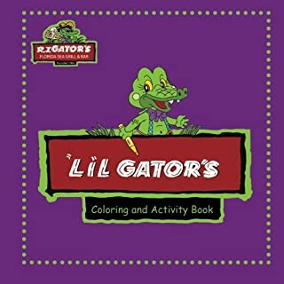 Lil Gators Coloring & Activity Book: Lisa McNamara by RJ Gators (2012-06-05)