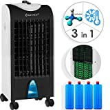 KESSER® 3in1 Mobile Klimaanlage | Klimagerät | Ventilator Klimaanlage | 4 L Tank Timer 3 Stufen |...