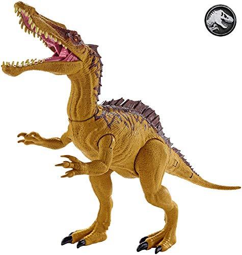 Jurassic World GDL07 - Dino Rivals Mega Doppel-Attacke Suchomimus, Spielzeug ab 4 Jahren