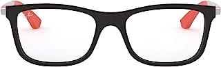 Ray-Ban - JUNIOR 0ry 1549 3652 46 Monturas de Gafas, Matte Black, Unisex-niños