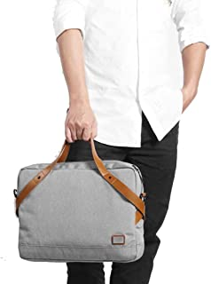 """Mens Bag New Men's Waterproof Casual Business Handbag Messenger Bag 15.6"""" Leather Laptop Bag High capacity"""
