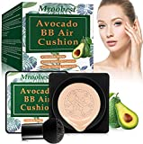 BB Cream, CC Cream, Crema Fondotinta, Mushroom Head Air Cushion BB Cream, Fondotinta Liquido, correttore duraturo idratante illuminante,Effetto Naturale, Alta Coprenza