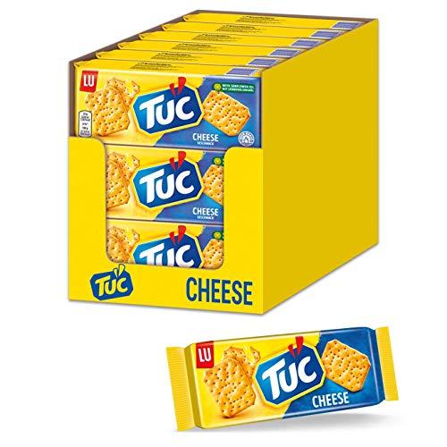 TUC Cheese 18 x 100g - Fein gesalzenes Knabbergebäck mit Käsegeschmack
