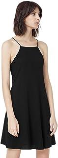 Mango A Line Dress for Women - Black M