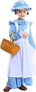 Vantina Colonial Dress Prairie Pioneer Costume Wolf Grandma Cosplay Costumes Halloween Dress for Women and Girls