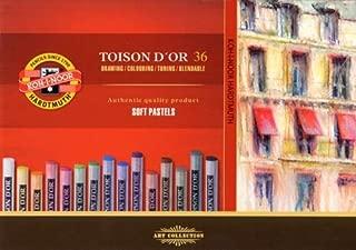 Koh-I-Noor : Toison d'Or : Soft Pastels : Set of 36