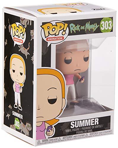 Funko Pop Summer con móvil (Rick & Morty 303) Funko Pop Rick & Morty