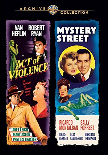 Act of Violence/Mystery Street [DVD-Audio]